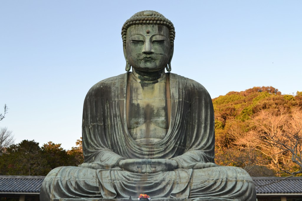 The Great Buddha, Kamakura. (B. Wong)